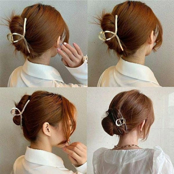Крабик для волос, металлический